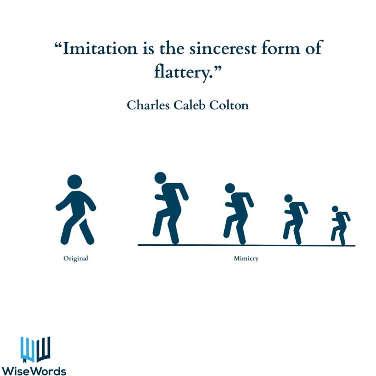 visual-aphorisms-imitation-is-flattery-2