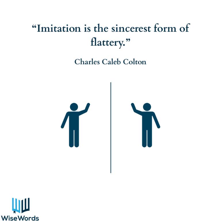 visual-aphorisms-imitation-is-flattery