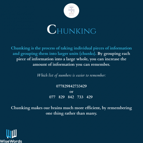 a-mind-for-numbers-book-summary-acronym-c-for-chunking