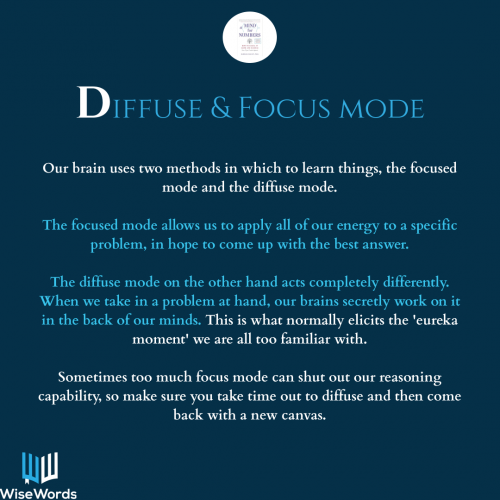 a-mind-for-numbers-book-summary-acronym-d-for-diffuse-mode