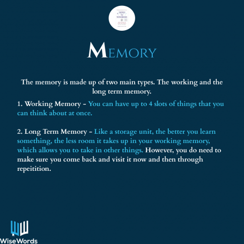 a-mind-for-numbers-book-summary-acronym-m-for-memory
